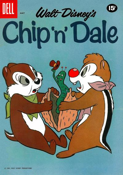 Cover for Chip 'n' Dale (Dell, 1955 series) #25