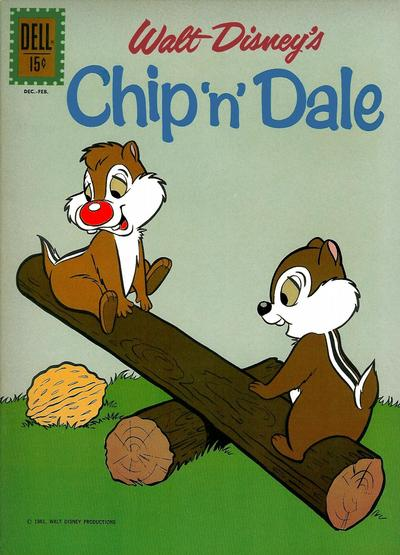 Cover for Chip 'n' Dale (Dell, 1955 series) #28