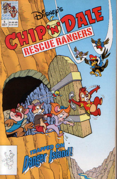 Cover for Chip 'n' Dale Rescue Rangers (Disney, 1990 series) #5