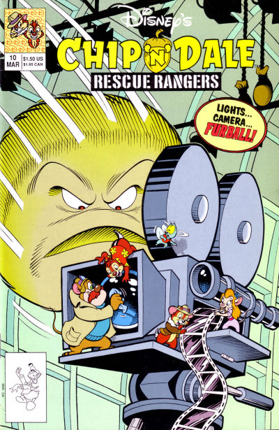 Cover for Chip 'n' Dale Rescue Rangers (Disney, 1990 series) #10