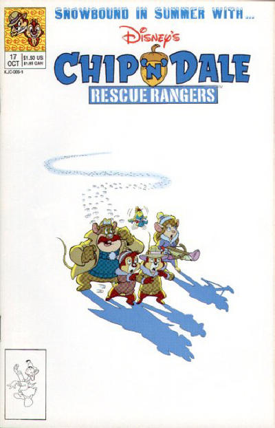 Cover for Chip 'n' Dale Rescue Rangers (Disney, 1990 series) #17