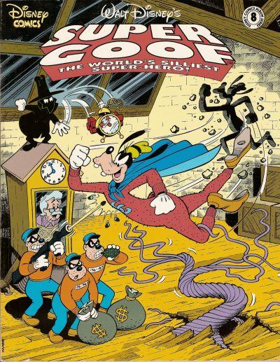 Cover for Disney Comics Album (Disney, 1990 series) #8
