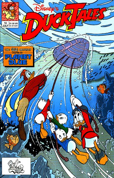 Cover for DuckTales (Disney, 1990 series) #14
