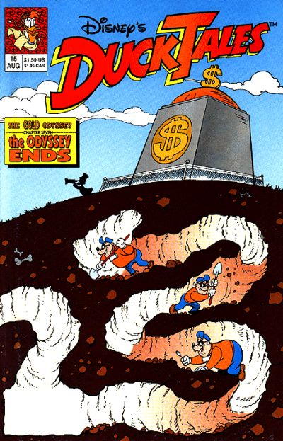 Cover for DuckTales (Disney, 1990 series) #15