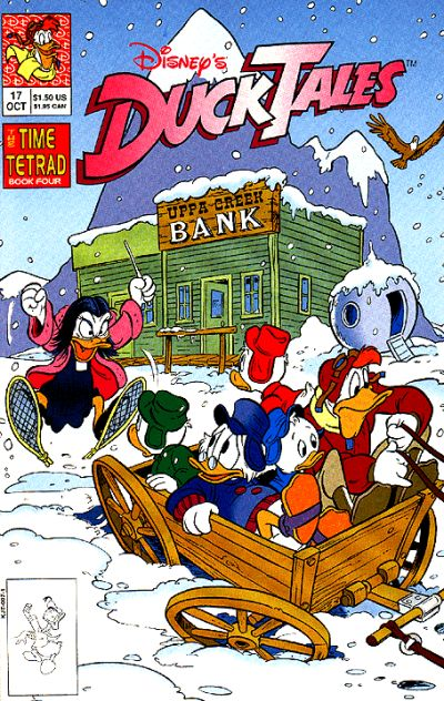 Cover for DuckTales (Disney, 1990 series) #17