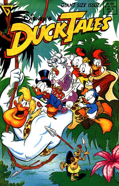 Cover for Disney's DuckTales (Gladstone, 1988 series) #2 [Newsstand]
