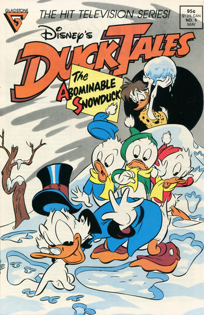 Cover for Disney's DuckTales (Gladstone, 1988 series) #6 [Newsstand]