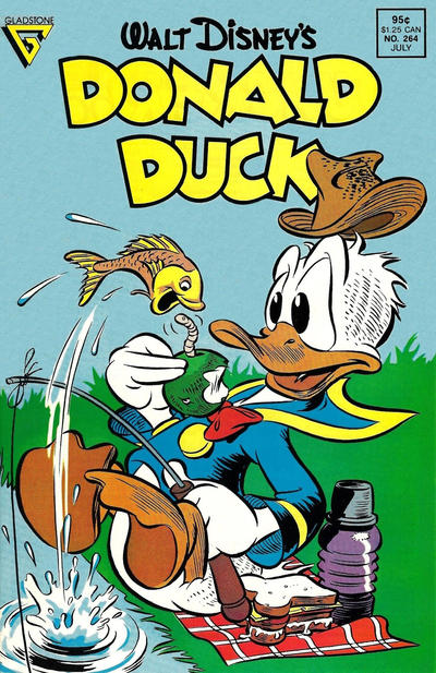 Cover for Donald Duck (Gladstone, 1986 series) #264 [Newsstand]