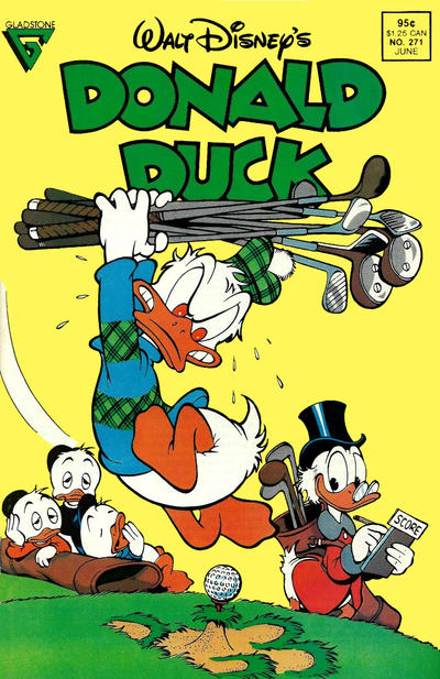 Cover for Donald Duck (Gladstone, 1986 series) #271 [Direct]