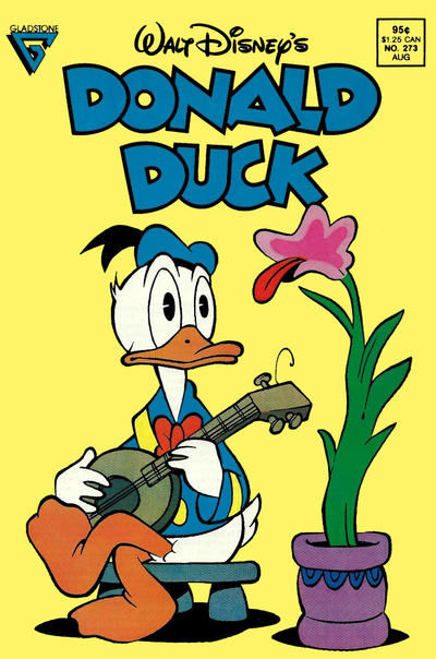 Cover for Donald Duck (Gladstone, 1986 series) #273 [Direct]