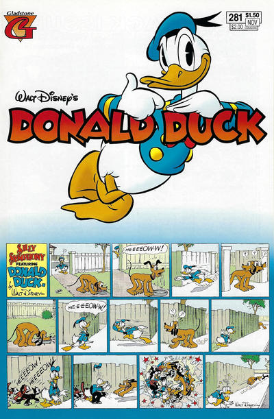 Cover for Donald Duck (Gladstone, 1986 series) #281