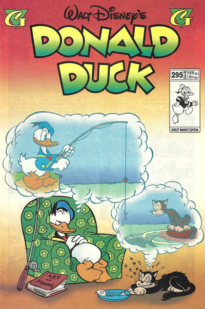 Cover for Donald Duck (Gladstone, 1986 series) #295