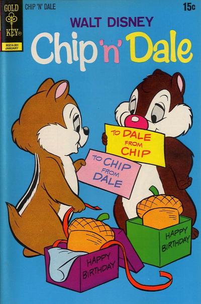 Cover for Walt Disney Chip 'n' Dale (Western, 1967 series) #19