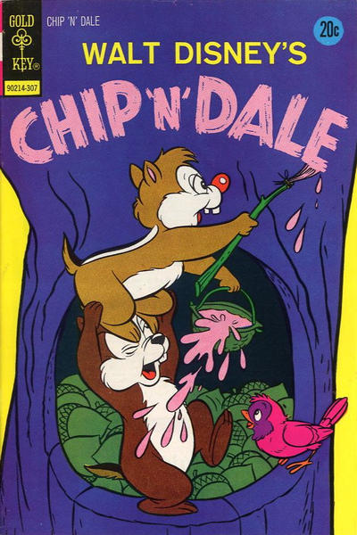 Cover for Walt Disney Chip 'n' Dale (Western, 1967 series) #22 [Gold Key]