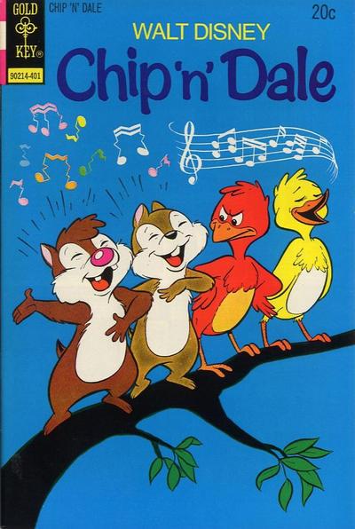 Cover for Walt Disney Chip 'n' Dale (Western, 1967 series) #25 [Gold Key]