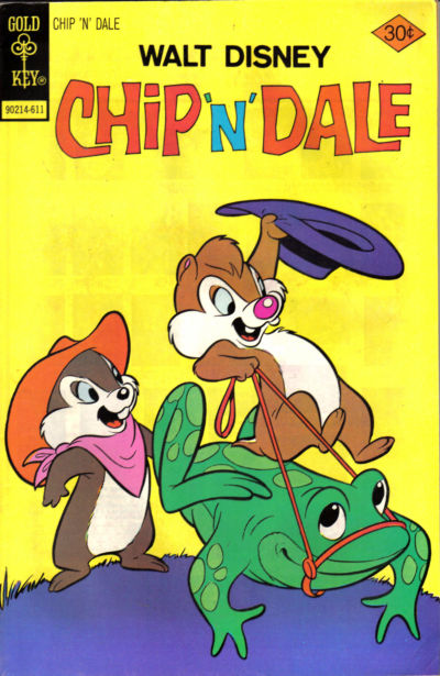Cover for Walt Disney Chip 'n' Dale (Western, 1967 series) #43 [Gold Key]