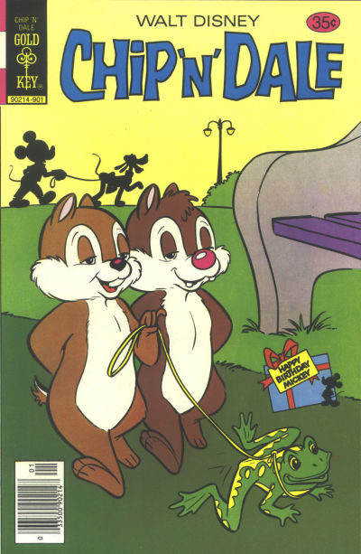 Cover for Walt Disney Chip 'n' Dale (Western, 1967 series) #56 [Gold Key]