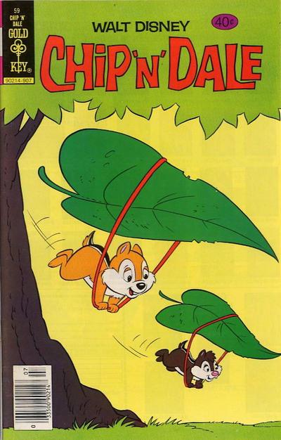 Cover for Walt Disney Chip 'n' Dale (Western, 1967 series) #59 [Whitman]