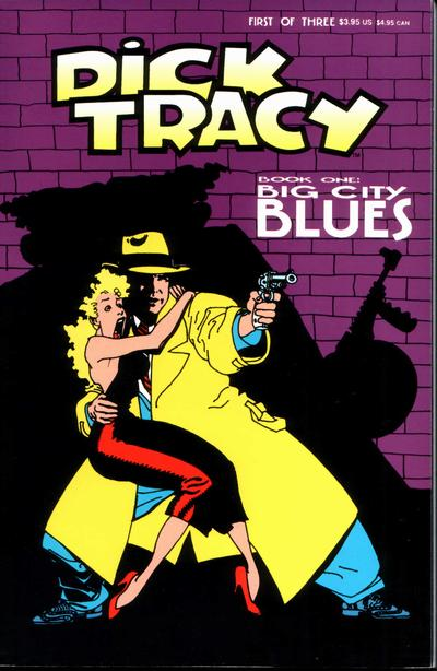 Cover for Dick Tracy (Disney, 1990 series) #1