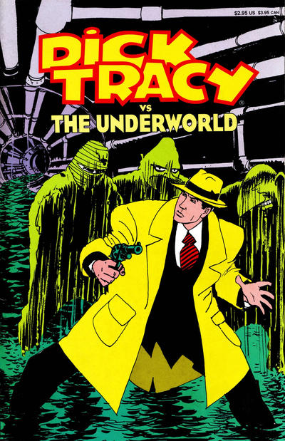 Cover for Dick Tracy (Disney, 1990 series) #2