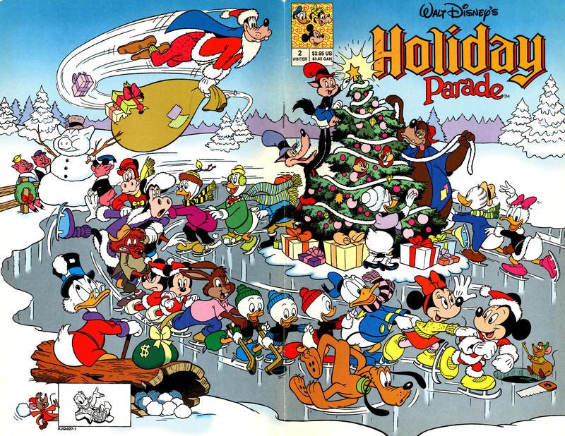 Cover for Walt Disney's Holiday Parade (Disney, 1990 series) #2