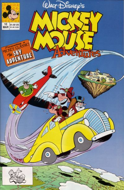 Cover for Walt Disney's Mickey Mouse Adventures (Disney, 1990 series) #10