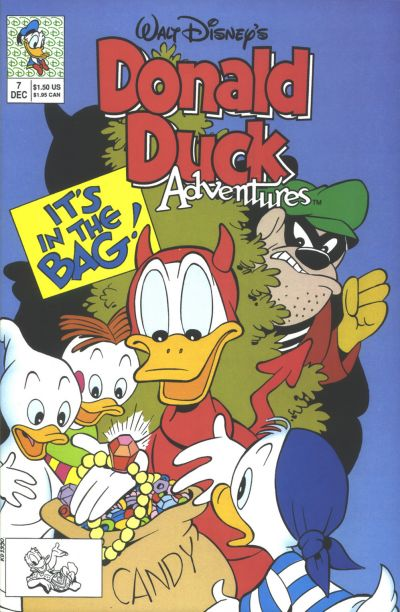 Cover for Walt Disney's Donald Duck Adventures (Disney, 1990 series) #7