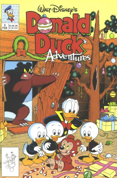 Cover for Walt Disney's Donald Duck Adventures (Disney, 1990 series) #9