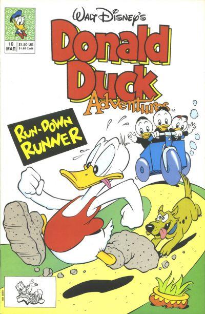 Cover for Walt Disney's Donald Duck Adventures (Disney, 1990 series) #10