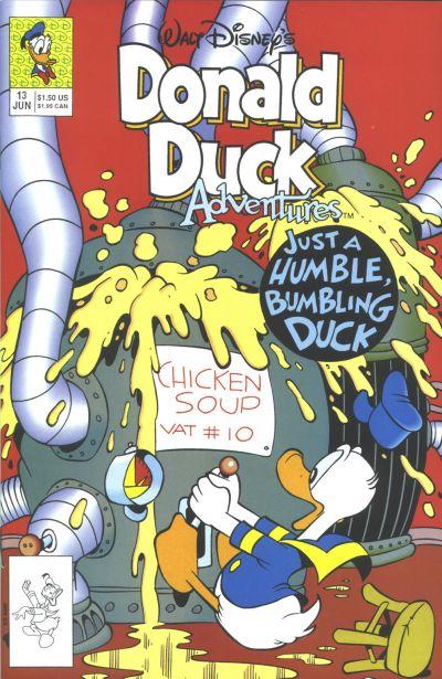 Cover for Walt Disney's Donald Duck Adventures (Disney, 1990 series) #13