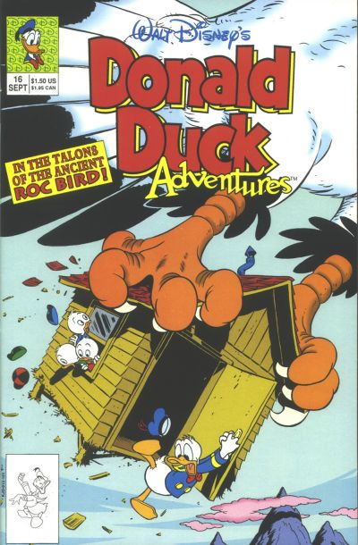 Cover for Walt Disney's Donald Duck Adventures (Disney, 1990 series) #16