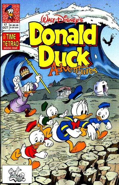 Cover for Walt Disney's Donald Duck Adventures (Disney, 1990 series) #17