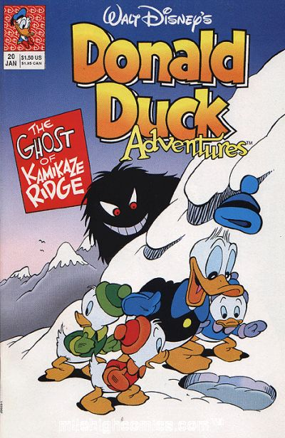 Cover for Walt Disney's Donald Duck Adventures (Disney, 1990 series) #20