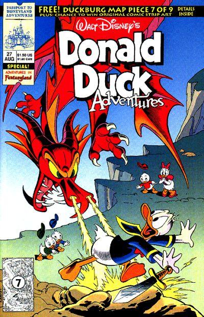 Cover for Walt Disney's Donald Duck Adventures (Disney, 1990 series) #27