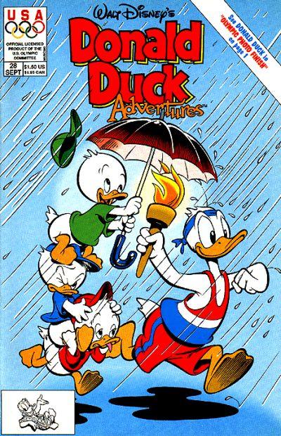 Cover for Walt Disney's Donald Duck Adventures (Disney, 1990 series) #28