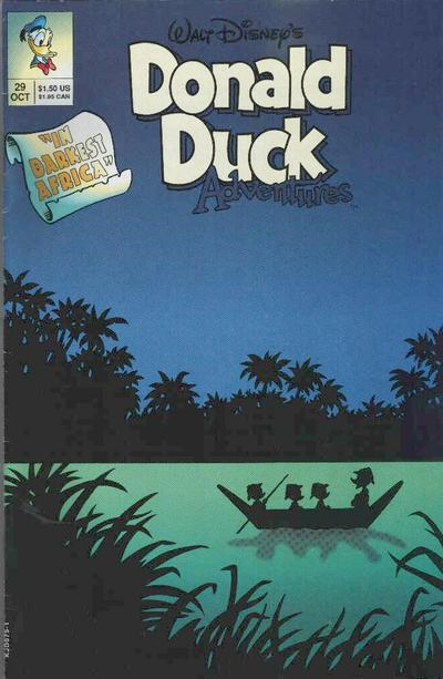 Cover for Walt Disney's Donald Duck Adventures (Disney, 1990 series) #29