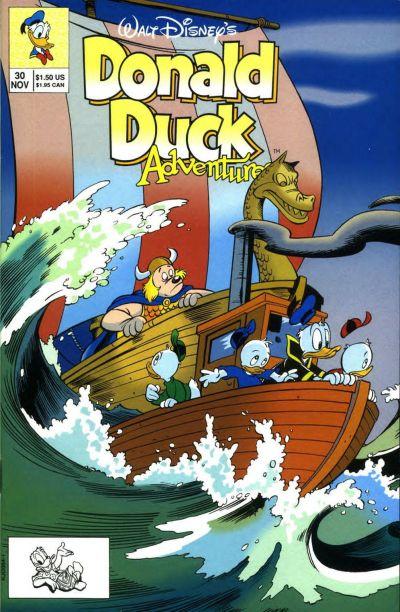 Cover for Walt Disney's Donald Duck Adventures (Disney, 1990 series) #30
