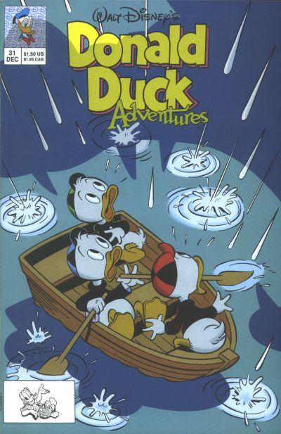 Cover for Walt Disney's Donald Duck Adventures (Disney, 1990 series) #31