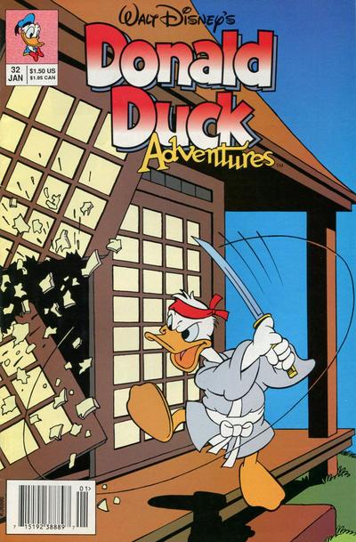 Cover for Walt Disney's Donald Duck Adventures (Disney, 1990 series) #32