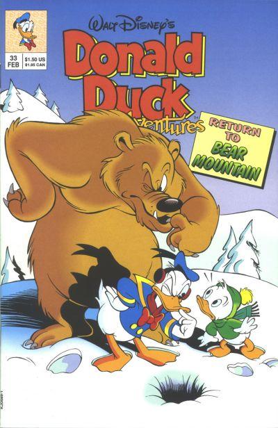 Cover for Walt Disney's Donald Duck Adventures (Disney, 1990 series) #33