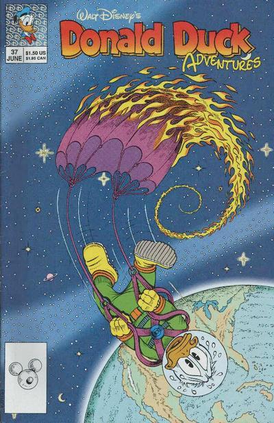 Cover for Walt Disney's Donald Duck Adventures (Disney, 1990 series) #37