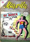 Cover for Marvila, la Mujer Maravilla (Editorial Novaro, 1955 series) #56