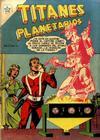 Cover for Titanes Planetarios (Editorial Novaro, 1953 series) #12