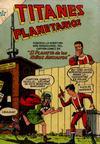 Cover for Titanes Planetarios (Editorial Novaro, 1953 series) #20