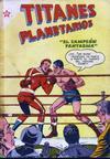 Cover for Titanes Planetarios (Editorial Novaro, 1953 series) #21