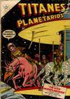Cover for Titanes Planetarios (Editorial Novaro, 1953 series) #22