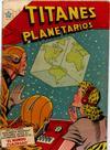 Cover for Titanes Planetarios (Editorial Novaro, 1953 series) #24
