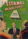 Cover for Titanes Planetarios (Editorial Novaro, 1953 series) #31