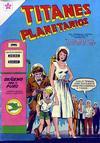 Cover for Titanes Planetarios (Editorial Novaro, 1953 series) #34