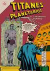 Cover for Titanes Planetarios (Editorial Novaro, 1953 series) #37